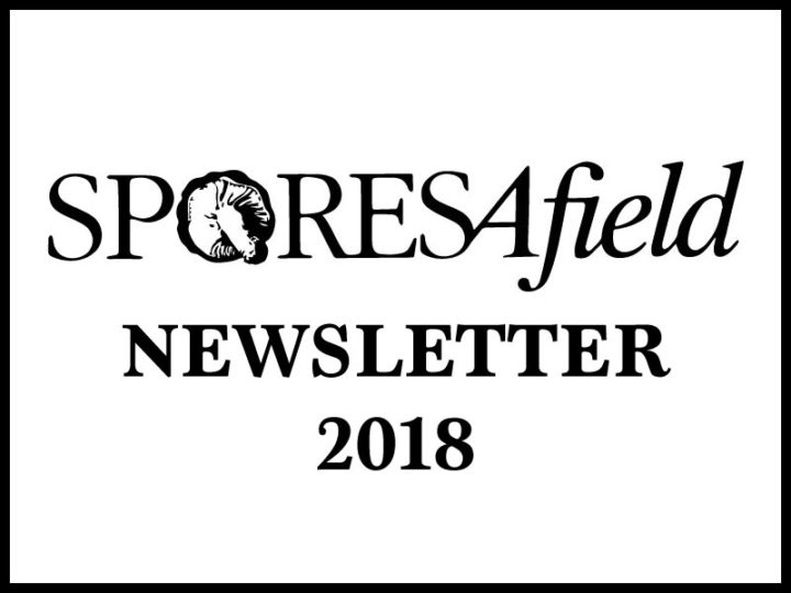 March 2018 Spores Afield Newsletter